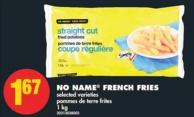 No Name French Fries - 1 Kg