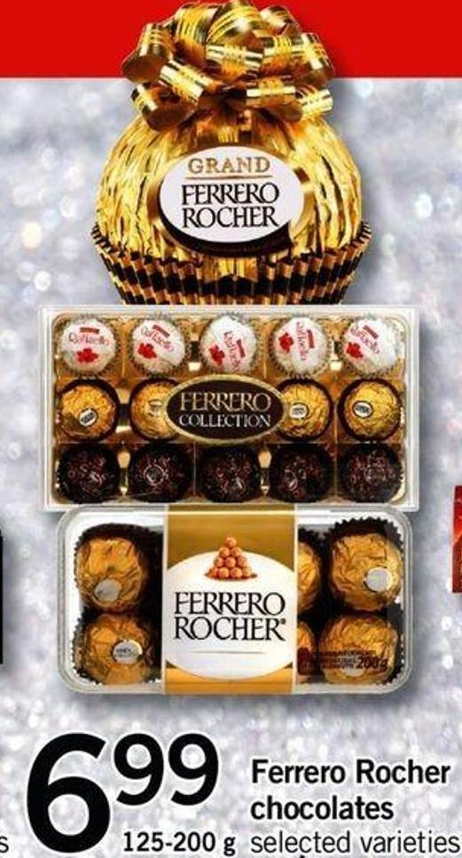 Ferrero Rocher Chocolates - 125-200 G