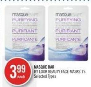 Masque Bar By Look Beauty Face Masks