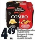 Black Diamond Cheese Combos 129 g
