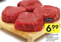 Sterling Silver Top Sirloin Medallions