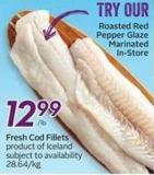 Fresh Cod Fillets