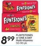 Flintstones or One A Day Multi-vitamins