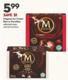 Magnum Ice Cream  Bars or Novelties