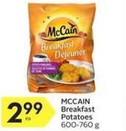 Mccain Breakfast Potatoes