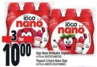 IOGO Nano Drinkable Yogourt 6 X 93 ml