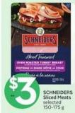 Schneiders Sliced Meats