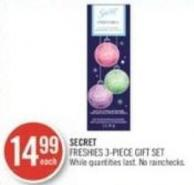 Secret Freshies 3-piece Gift Set