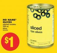 No Name Olives - 398 mL