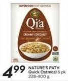 Nature's Path Quick Oatmeal