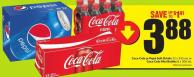 Coca-cola or Pepsi Soft Drinks 12 X 355 mL or Coca-cola Mini Bottles 8 X 300 mL