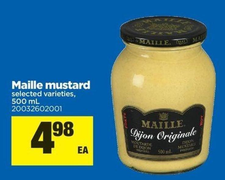 Ourites Maille Mustard - 500 mL