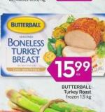 Butterball Turkey Roast Frozen 1.5 Kg