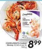 Compliments Cooked Shrimp
