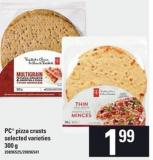 PC Pizza Crusts - 300 g