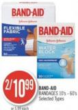 Band-aid Bandages 10's - 60's
