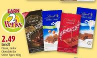 Lindt Classic - Lindor Chocolate Bar