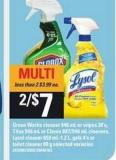 Green Works Cleaner 946 mL Or Wipes - 30's - Tilex - 946 mL Or Clorox - 887/946 mL Cleaners - Lysol Cleaner - 650 Ml-1.2 L - Gels - 4's Or Toilet Cleaner - 80 g