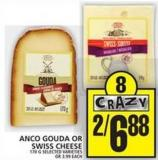 Anco Gouda Or Swiss Cheese