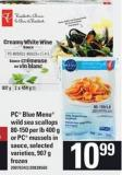 PC Blue Menu Wild Sea Scallops - 80/150 Per Lb - 400 G Or PC Mussels In Sauce - 907 G