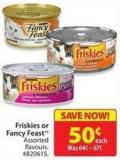 Friskies or Fancy Feast