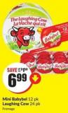 Mini Babybel 12 Pk Laughing Cow 24 Pk