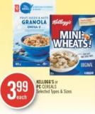 Kellogg's or PC Cereals