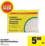 No Name Mini Marshmallows - 1 Kg