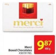 Merci Boxed Chocolates - 400 G