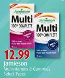 Jamieson Multivitamins & Gummies