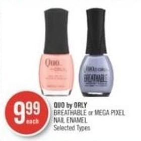 Quo By Orly Breathable or Mega Pixel Nail Enamel