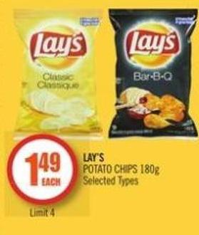 Lay's Potato Chips 180g