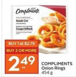 Compliments Onion Rings
