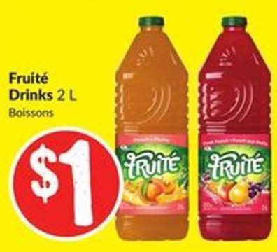 Fruité Drinks 2 L
