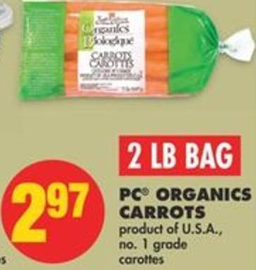 PC Organics Carrots - 2 Lb Bag
