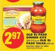 Old El Paso Dinner Kits - 250-510 g or Old El Paso Salsa - 650 mL