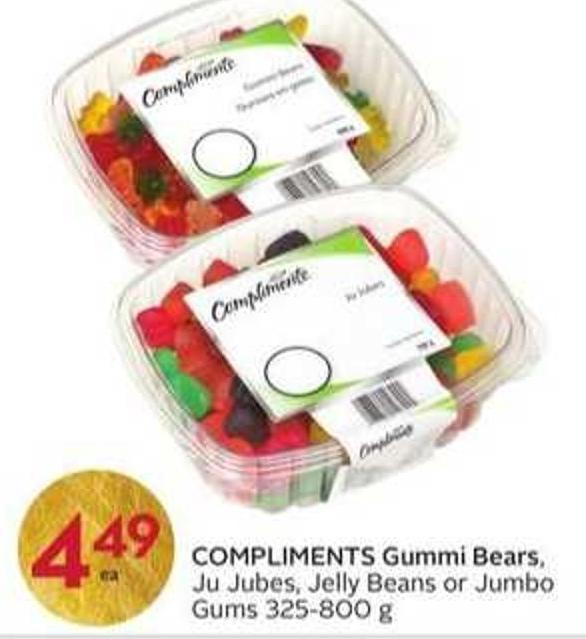 Compliments Gummi Bears