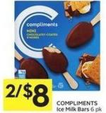 Compliments Ice Milk Bars