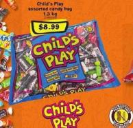 Child's Play Assorted Candy Bag - 1.3 Kg