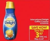 International Delight Coffee Creamer 946 mL