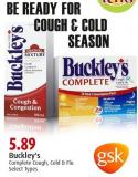 Buckley's Complete Cough - Cold & Flu