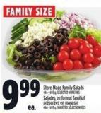 Store Made Family Salads 466 - 692 g