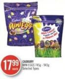 Cadbury Mini Eggs 745g - 943g