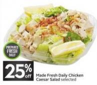 Made Fresh Daily Chicken Caesar Salad