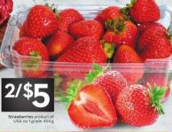 Strawberries Product of USA No. 1 Grade 454 g