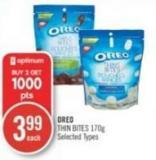 Nabisco Oreo Thin Bites 170 g