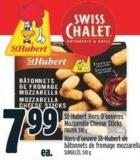 St-hubert Hors-d'oeuvres Mozzarella Cheese Sticks