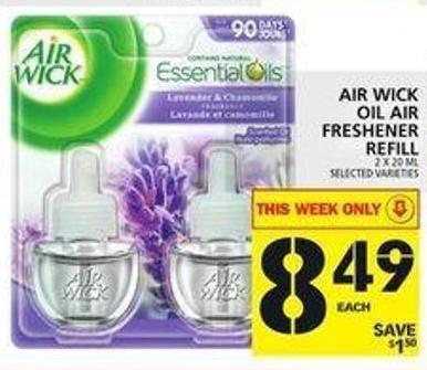 Air Wick Oil Air Freshener Refill