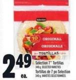Selection 7in Tortillas 340 g