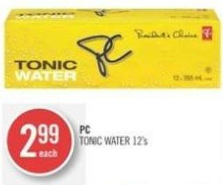 PC Tonic Water 12's